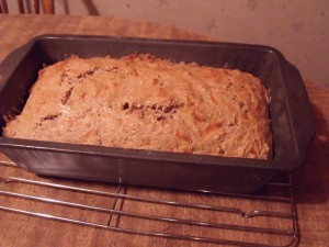 cool beer bread in pan 10 minutes