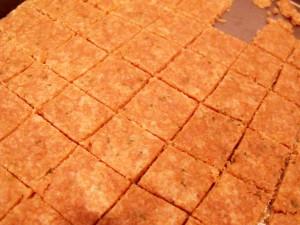 cracker squares