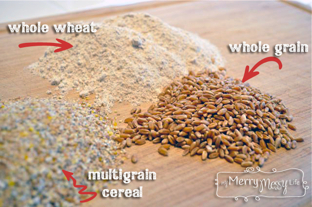 Multigrain Wheat Baking Mix Recipe with Whole Wheat and Multigrain Cereal