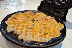 Multigrain Whole Wheat Blueberry Waffles Recipe