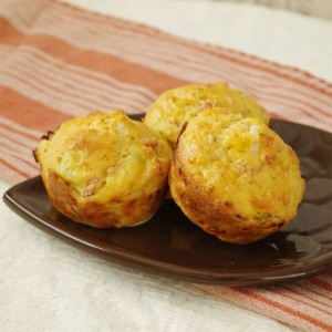 Kamut & Cottage Cheese Breakfast Muffins