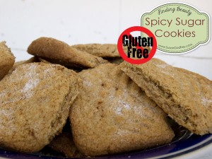 Gluten Free Spicy Sugar Cookies
