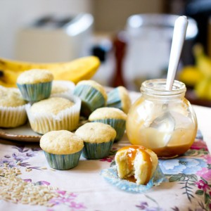 Banana Brown Rice Muffins