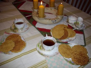 Try Pizzelles, the delicate Italian wafer cookie with a secret ingredient