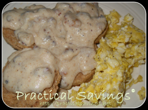 Whole Wheat Biscuits & Gravy