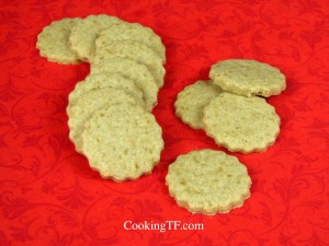 vanilla sugar snaps cookie