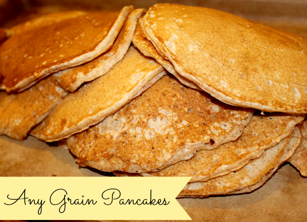 Any Grain Pancakes