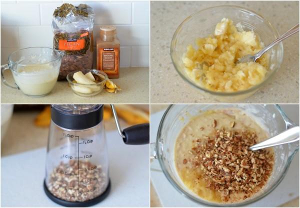 Banana Nut Pancakes Mix