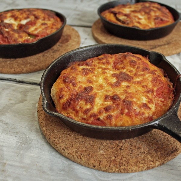 Individual Skillet Pizzas