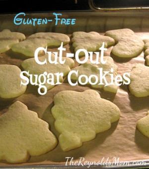 Gluten-Free Cut-Out Sugar Cookies