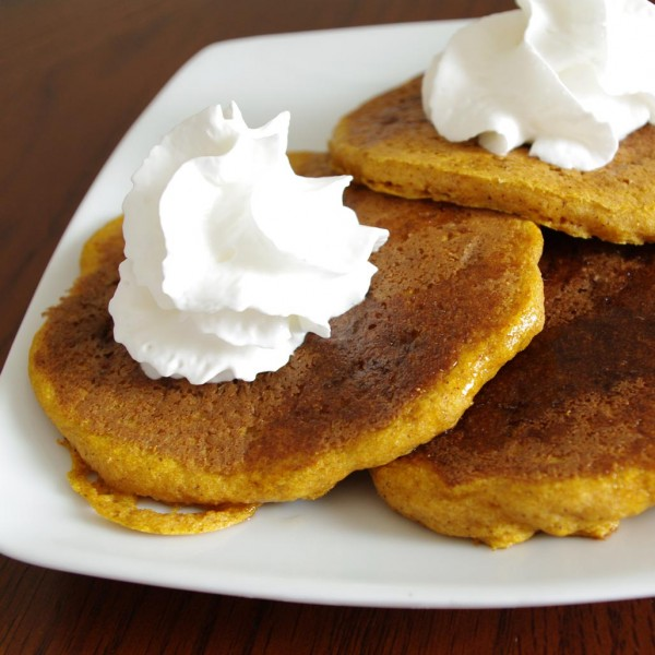 Pumpkin KAMUT Pancakes