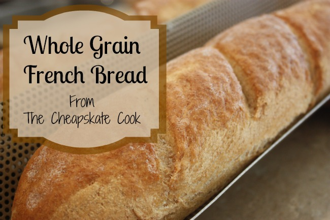 Whole Grain French Bread