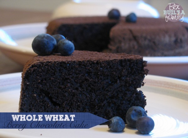 Whole Wheat Berry-Chocolate Pressure Cooker Cake