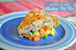Chicken Pot Pie Recipe using Homemade Baking Mix