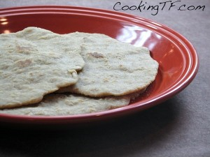 Soaked Gluten-Free Naan Bread