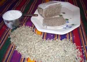 Sourdough rye bread made with freshly ground rye flour -- no wheat.