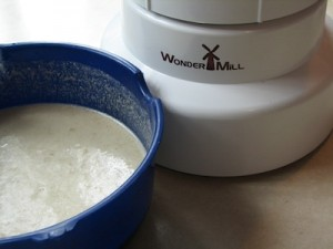 waffle batter with wondermill