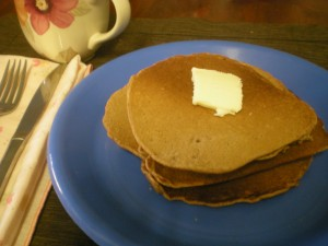 Buckwheat Buttermilk Pancakes