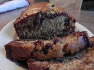 Light Wheat Banana Bread