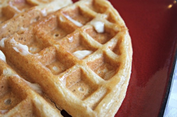 Overnight Soaked Waffles