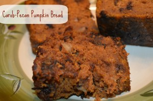 Carob Chip and Pumpkin Bread 6