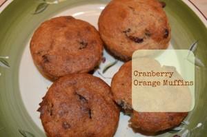 Cranberry Orange Muffins8