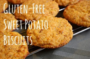 GF Sweet Potato Biscuits - easy, delicious and kid friendly!