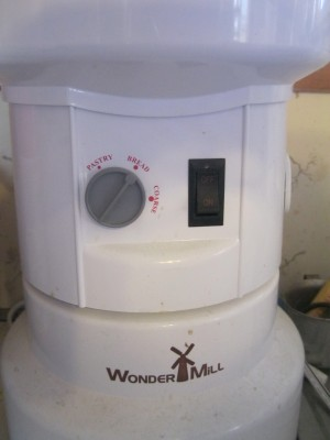 Wondermill grinds great grains.
