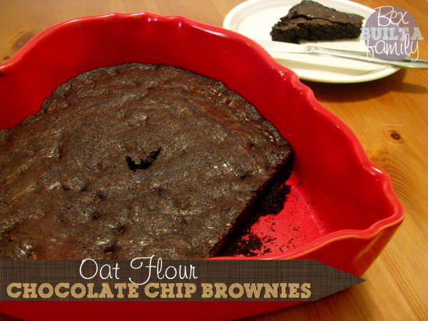 Oat Flour Brownies