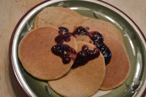 Orange Spelt Pancakes