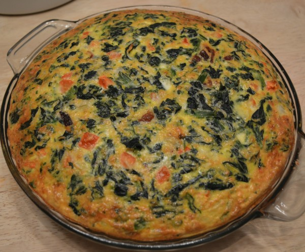 Quiche with Spelt Crust