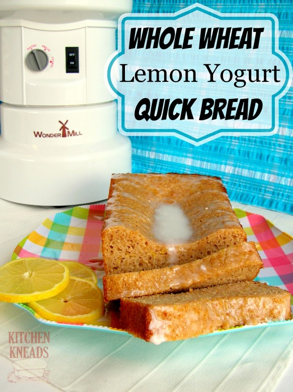 Whole Wheat Lemon Yogurt Bread