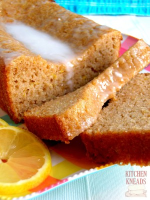 Whole Wheat Lemon Yogurt Quick Bread