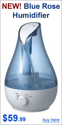 Blue Rose Humidifier