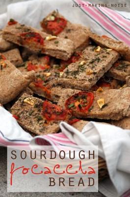 Sourdough Focaccia Bread