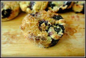 White Rice Blueberry Muffins Recipe
