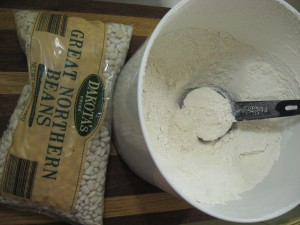 homemade white bean flour