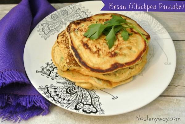 Besan (Chickpea Pancake) Recipe