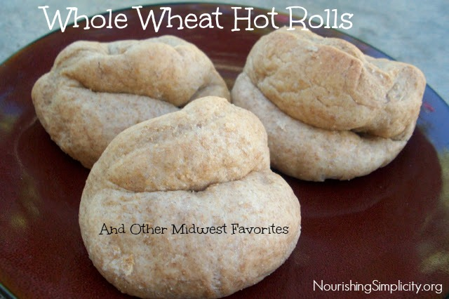 Whole Wheat Hot Rolls