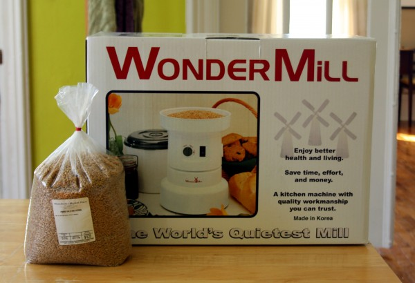 Wondermill with Wheat Berries