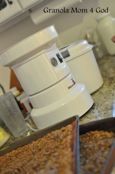 grinding wheat berries quickly