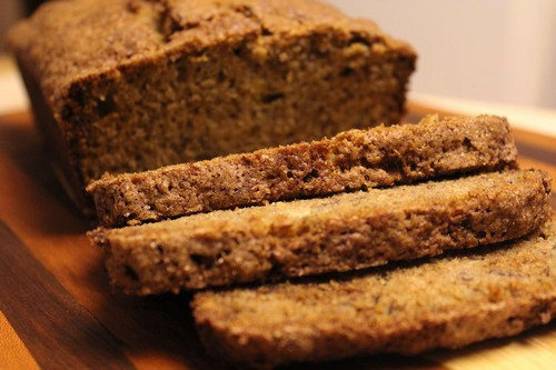 Easy Whole Wheat Banana Bread