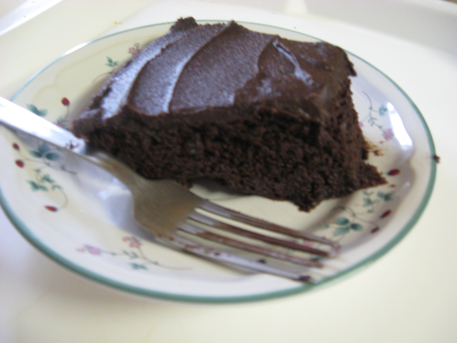 white bean fudge cake