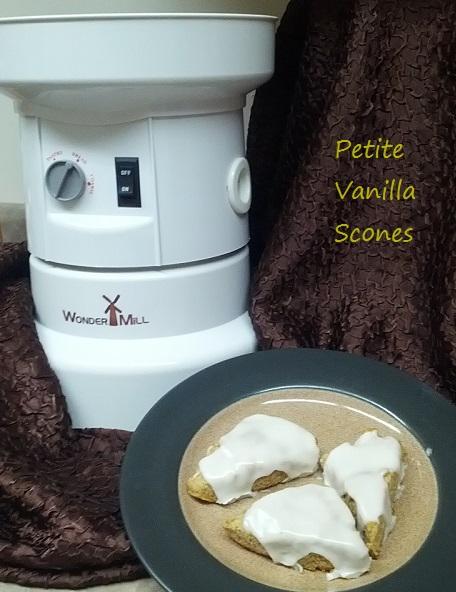 Petite Vanilla Scones Recipe