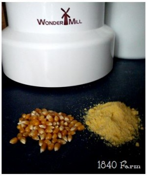 WonderMill Popcorn and Cornmeal
