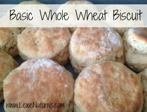 Basic Whole Wheat Biscuits