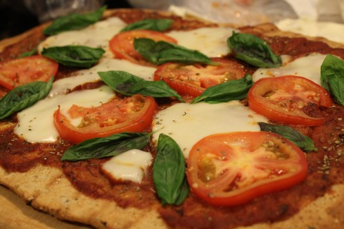 Grilled Margherita Spelt Pizza
