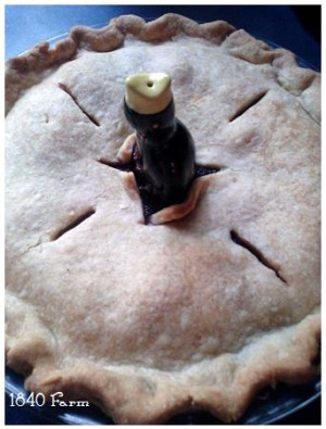 Summer Berry Pie from 1840 Farm