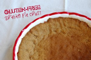 Gluten-free Graham Pie Crust