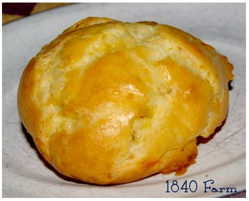 Smoked Cheddar Gougere from 1840 Farm